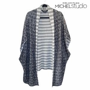 Michel Studio Collection Poncho Style Sweater